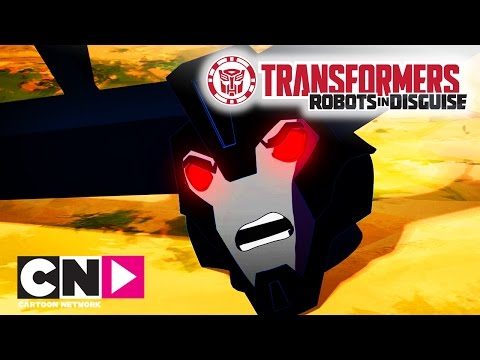 Transformers: Robots In Disguise | In Training | Cartoon Network
