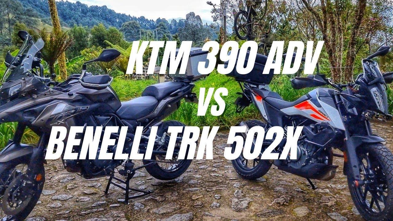 Download ktm 390 adv vs benelli trk 502x