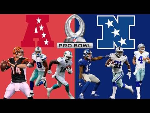 AFC VS NFC PRO BOWL SIMULATION!! HOLY MOLY!! MADDEN 17 (HIGHLIGHTS)