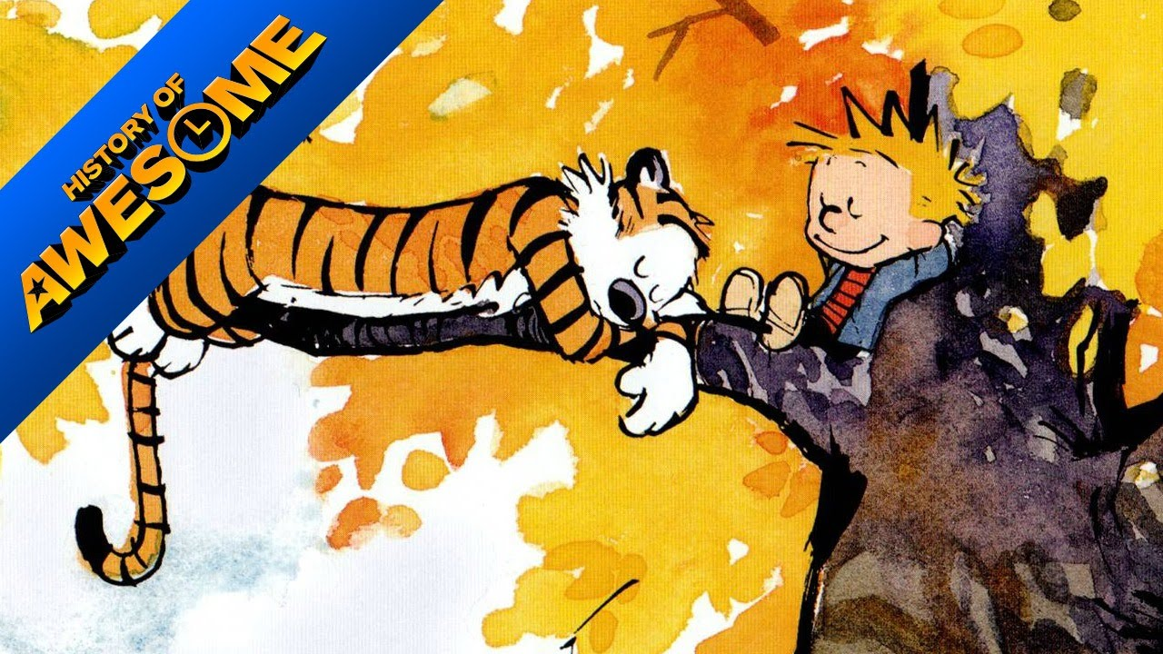Calvin & Hobbes Is Still One of Comics\' Most Brilliant Works - YouTube