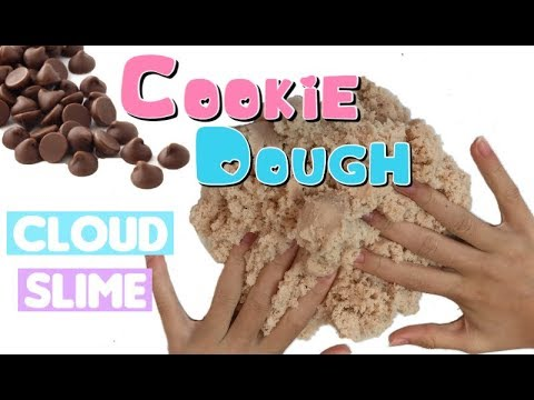 cookie dough cloud slime tutorial! fluffy satisfying slime youtubecookie dough cloud slime tutorial! fluffy satisfying slime