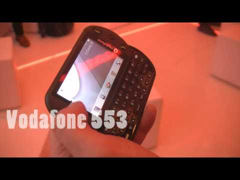 Vodafone 553 smartphone video preview by HDblog (ita)