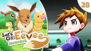 """Pokémon Let's Go Eevee MonoBUG Let's Play! - Episode #28 - """"SILPH CO AND BLUE!"""" w/ aDrive"""