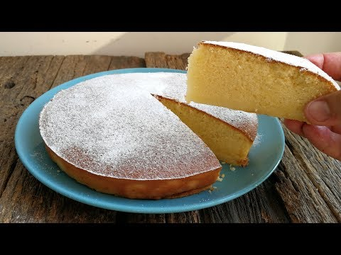 HOT MILK ITALIAN SPONGE CAKE recipe
