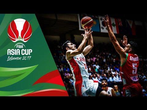 Iran v Lebanon - Full Game - FIBA Asia Cup 2017