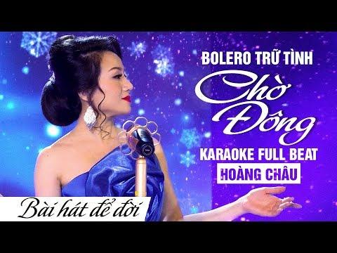 Linda Phạm  KARAOKE CHỜ ĐÔNG