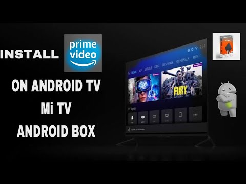 HOW TO INSTALL AMAZON PRIME ON MI ANDROID TV/BOX Mp3