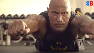 Dwayne Johnson training/workout