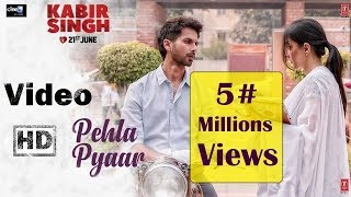 Full Video : Pehla Pyaar | Kabir Singh | Shahid Kapoor, Kiara | Armaan Malik | Vishal Mishra