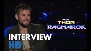 THOR RAGNAROK [HD] | interviews Chris Hemsworth, Mark Ruffalo, Taika Watiti, Jeff Goldblum