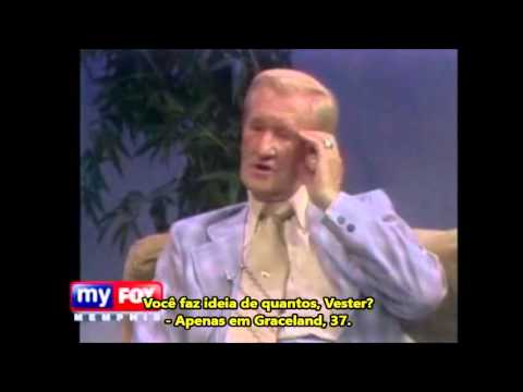 """Entrevista Com O """"Vester Presley"""" Tio De Elvis  E Irmão De Vernon (Legendado)"""