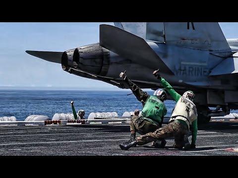 USS Theodore Roosevelt Flight Deck (April 2017)