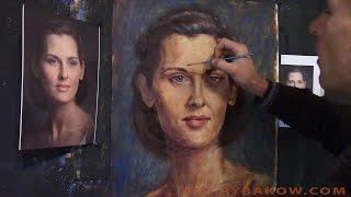 ПОРТРЕТ МАСЛОМ - портрет на заказ - как рисовать ПОРТРЕТ!(ПОРТРЕТ МАСЛОМ - портрет на заказ - как рисовать ПОРТРЕТ! http://art.rybakow.com/ В этом видео-уроке живописи мы с чисто..., 2015-09-16T12:34:54.000Z)