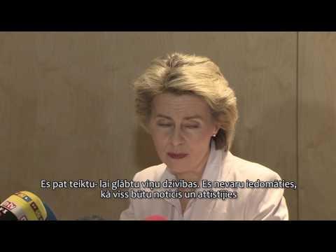 Latvijā ierodas Vācijas aizsardzības ministre