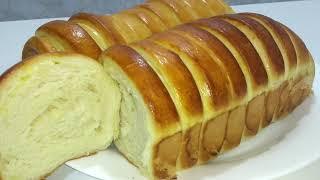 Pão De Leite Que Já Saí Fatiado Do Forno