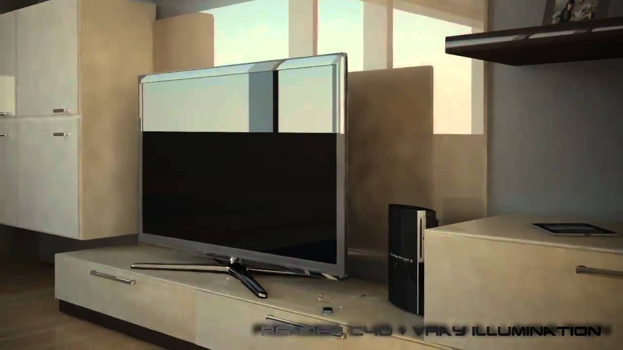 Cinema 4d vray render interni youtube for Programmi per rendering interni gratis