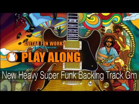 Super Funk Backing Track Jam in Gm