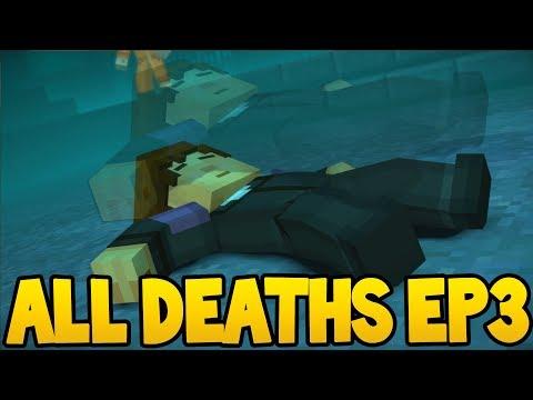 Minecraft Story Mode: Season 2 - ALL DEATH SCENES! - Episode 3