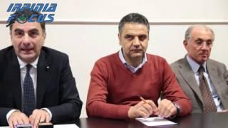 Trasferimento Liceo De Luca, la conferenza stampa del Predente della Provincia