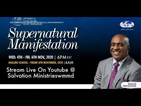 SUPERNATURAL MANIFESTATION (DAY 1)