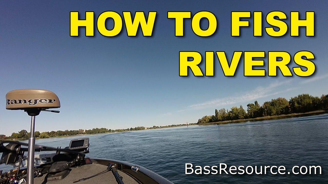 How To Catch River Bass | Bass Fishing