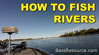 How To Catch River Bass | Bass Fishing
