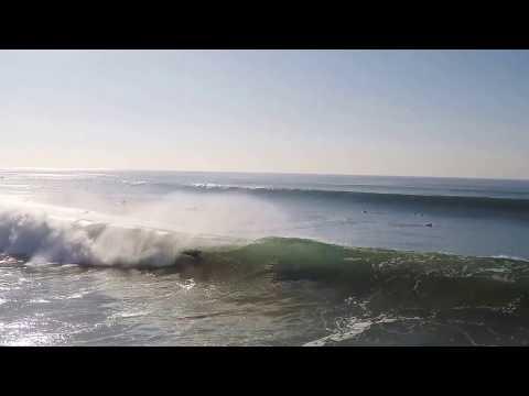 Surf big waves costa caparica
