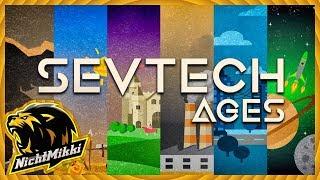 LIVE   Minecraft SevTech Ages    Respawm   NichtMikki