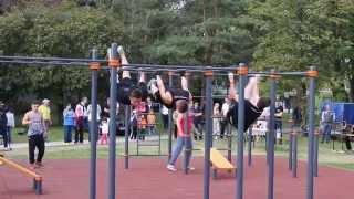 Otvorenie Street workout parku Pieštany