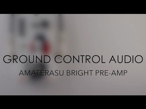 Ground Control Audio Amaterasu Bright Pre-Amp Guitar Effects Pedal Demo