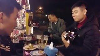 Liên Khúc Lời Yêu Thương tái xuất - Đội già Guitar HUBT =)))