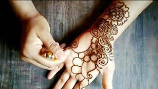 2 beautiful /easy hand mehndi designs ll henna design