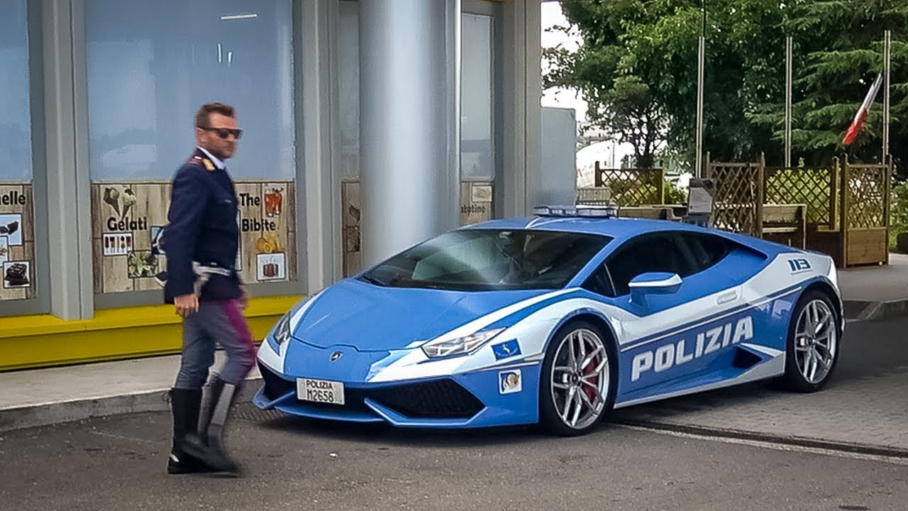 I Found A Real Lamborghini Police Car In Italy And 19 Paganis