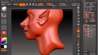 Sculptris to ZBrush Basics