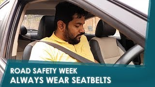 Sponsored Road Safety Week: Always Wear Seatbelts | NDTV carandbike