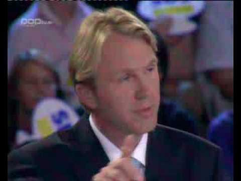 Karl Erjavec in Gregor Golobič na POP TV
