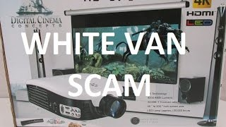 Scam Digital Cinema Concepts HD 979 projector, white van scam HD 979(I got scammed by white van, some shady dude in sunglasses sold me Scam Digital Cinema Concepts HD 979 projector for 200$. This Digital Cinema Concepts ..., 2015-04-20T03:18:34.000Z)