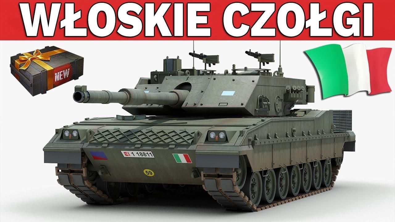 POLSKIE I WŁOSKIE CZOŁGI NADCHODZĄ – World of Tanks