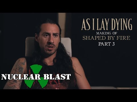 """AS I LAY DYING - The Making of Shaped By Fire: PART 3 - """"My Own Grave"""" (OFFICIAL INTERVIEW)"""