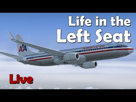 Life in the Left Seat KIAH - KABQ (Houston to Albuquerque) Featuring FMS Tutorial on 737NGX