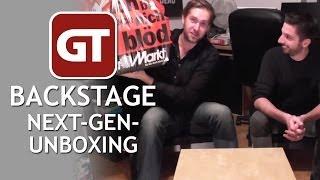 Thumbnail für GameTube Backstage: Next Gen Unboxing - Schärfer, schneller, leiser?
