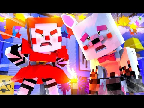Minecraft Fnaf Daycare- Circus Baby Is Mangle's Mom?!