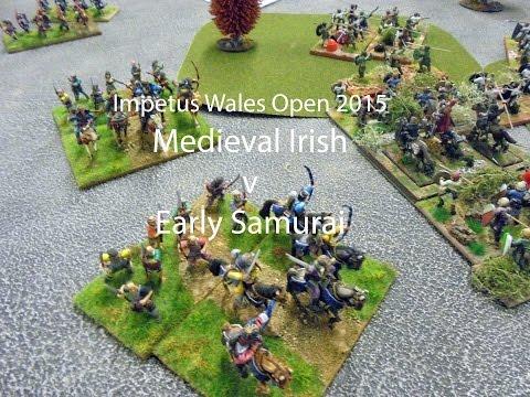 Impetus round 3 v Early Samurai