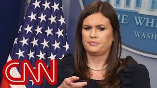 Stelter: Lack of answers from Sarah Huckabee Sanders
