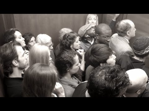 people in elevator. why 20 people are stuck in an elevator