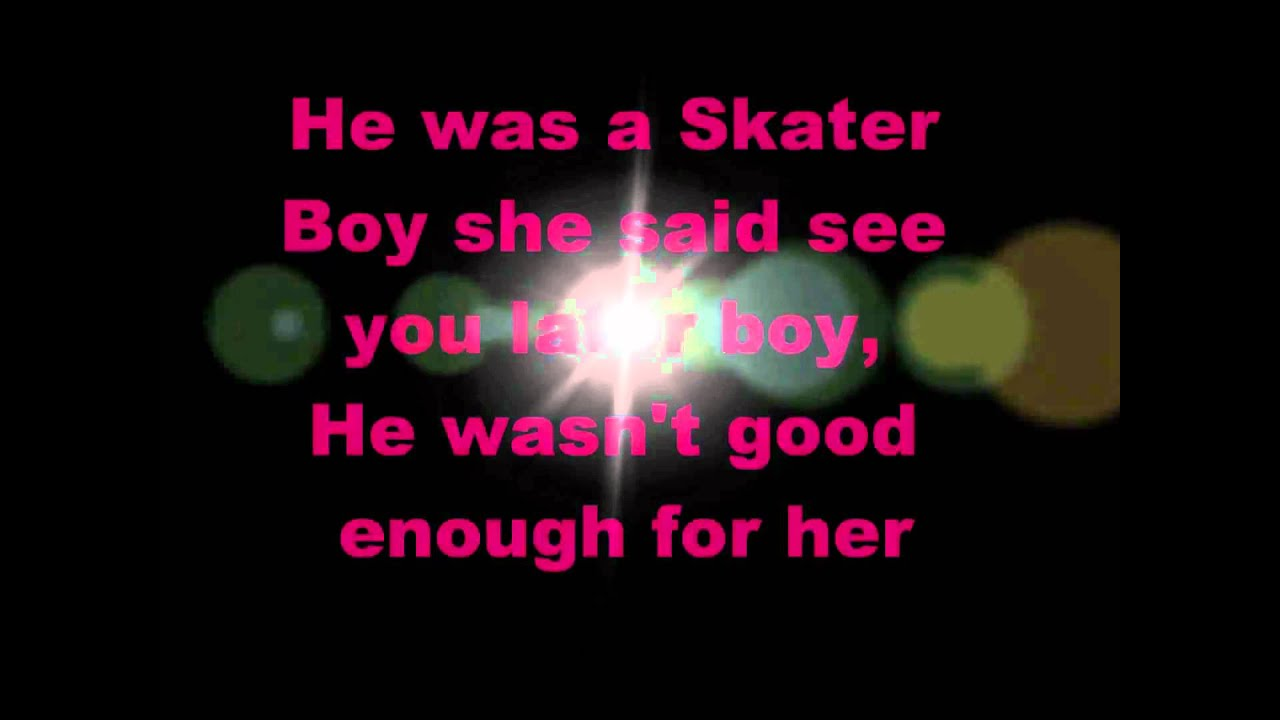 Avril Lavigne – Sk8er Boi Lyrics | Genius Lyrics