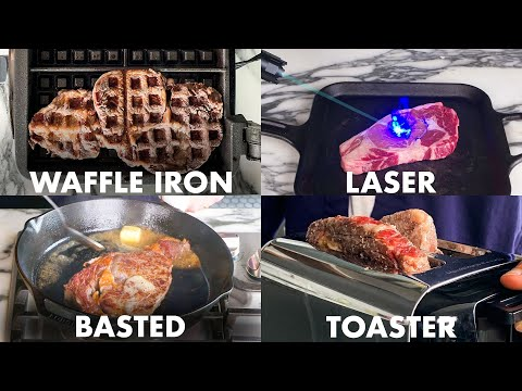 Every Way to Cook a Steak (43 Methods) | Bon Apptit