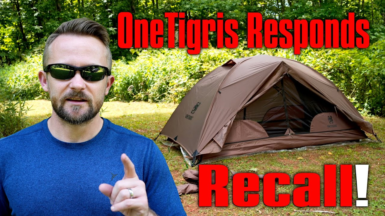 OneTigris Responds - Defective Tents, Recalls, 2nd Season Tent Only - Cosmitto Tent Problems