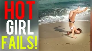 Hot Girl Fails Funny Fail Compilation October 2018