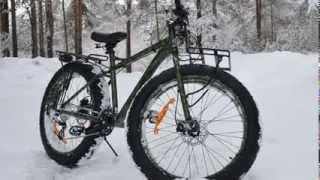 Тест-драйв фэтбайка Eltreco X4 (зимний велосипед)(Eltreco X4 уверенно чувствует себя на снегу. Мы провели тест-драйв и убедились, что это полноценный зимний велос..., 2014-03-21T05:13:06.000Z)